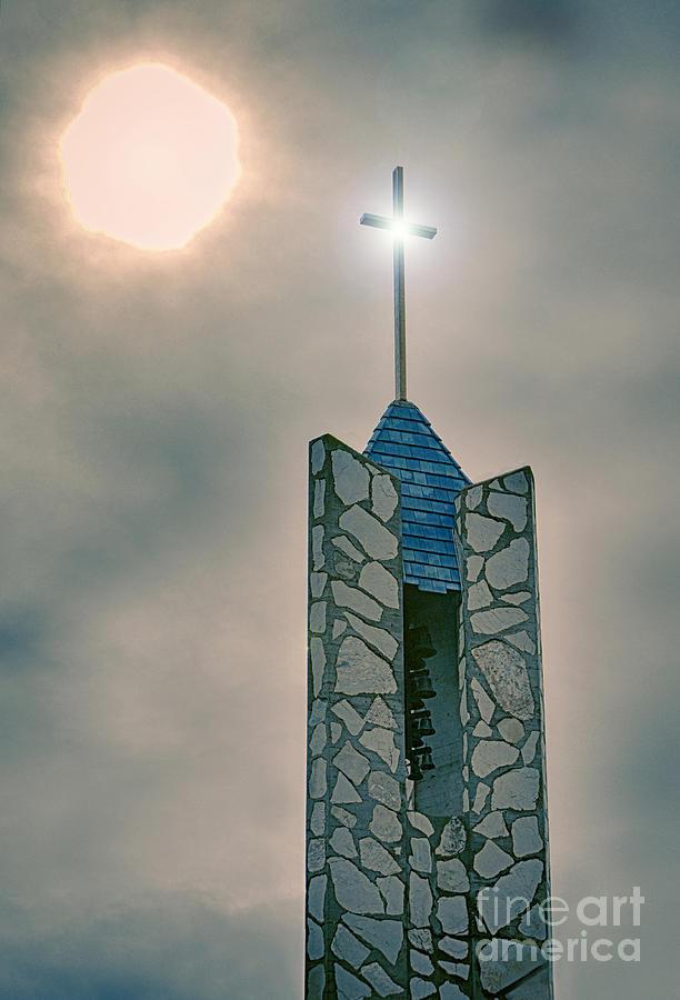 The Wayfarers Chapel Steeple Photograph