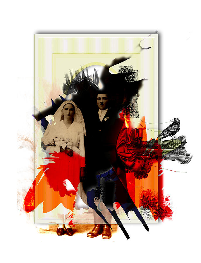 The Wedding Picture Digital Art