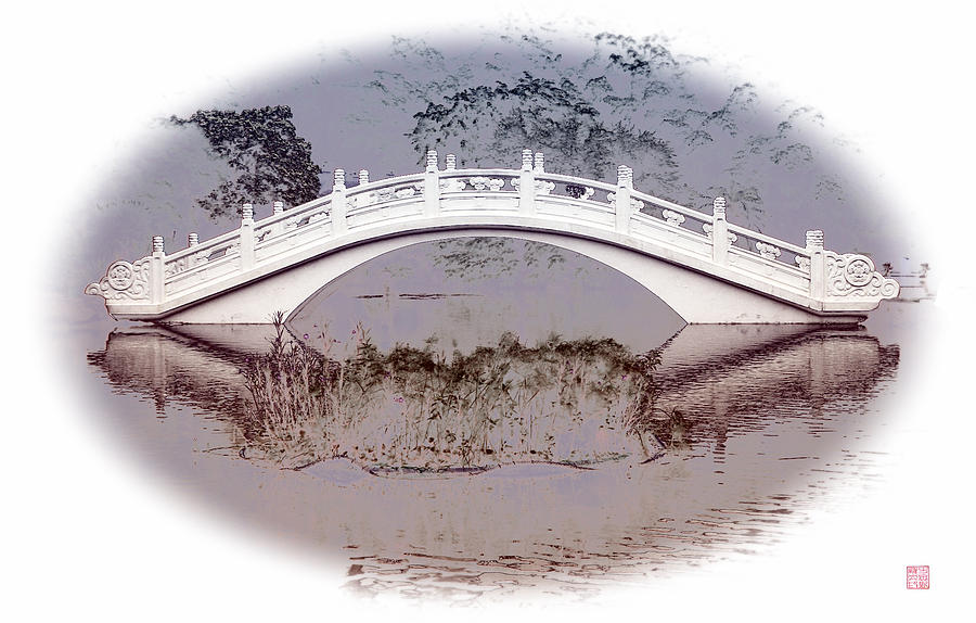 The White Bridge Digital Art
