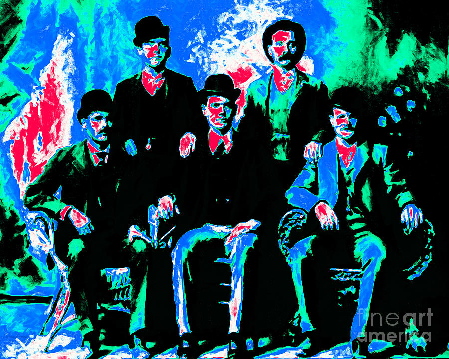 The Wild Bunch 20130212m135 Photograph  - The Wild Bunch 20130212m135 Fine Art Print