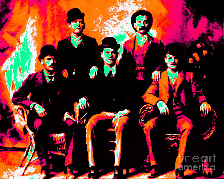 The Wild Bunch 20130212p38 Photograph  - The Wild Bunch 20130212p38 Fine Art Print