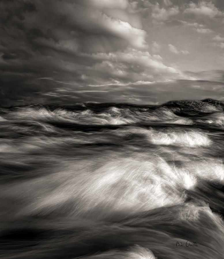 Nature Photograph - The Wind And The Sea by Bob Orsillo