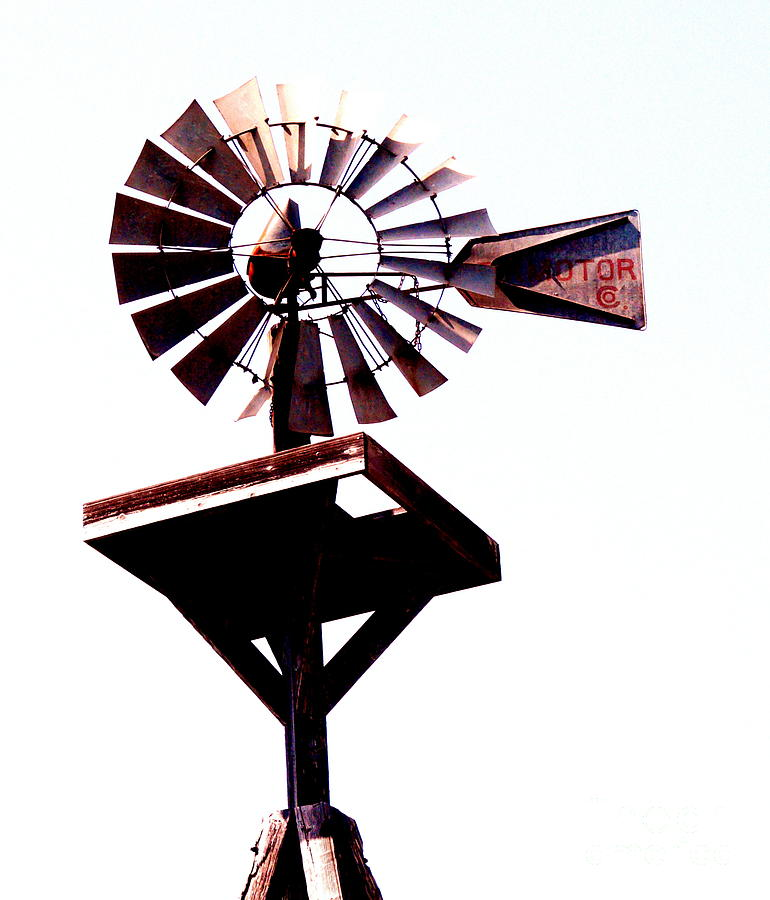 The Windmill Photograph  - The Windmill Fine Art Print