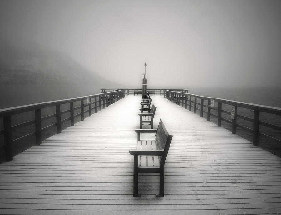 The Winter Pier Photograph