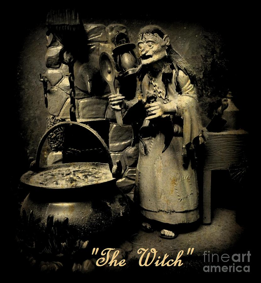 The Witch Photograph  - The Witch Fine Art Print