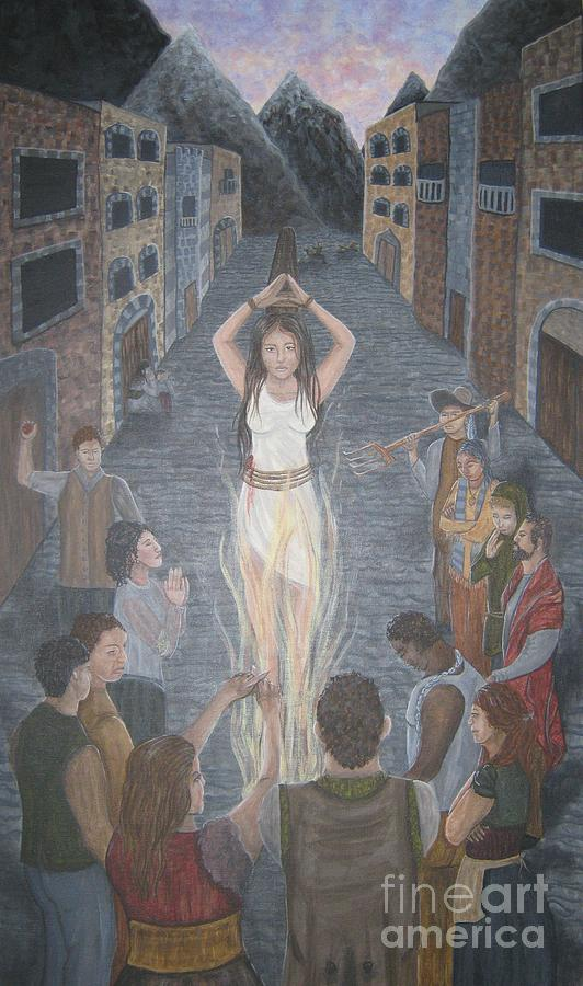The Witch Trials  Painting