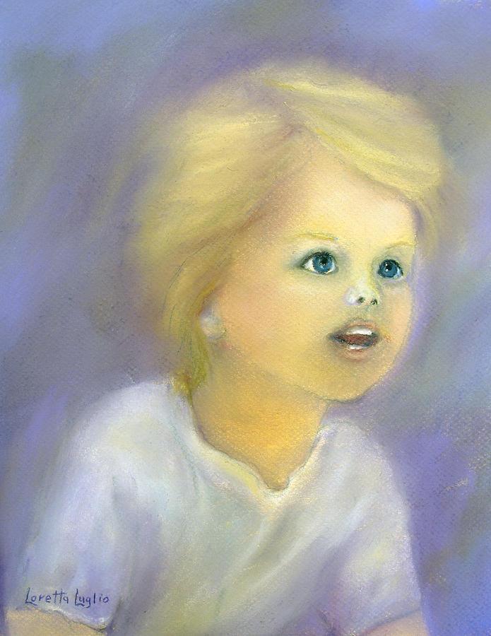 Boy Painting - The Wonder Of Childhood by Loretta Luglio