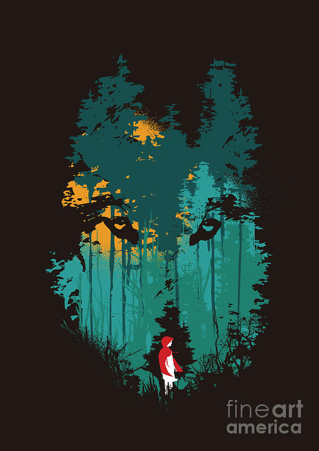 The Woods Belong To Me Digital Art