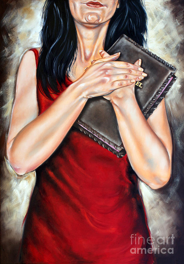 Bible Painting - The Word by Ilse Kleyn