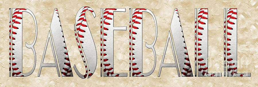 The Word Is Baseball is a photograph by Andee Design which was ...