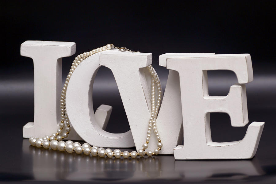 The Word Love Photograph