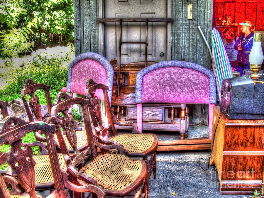 The Yard Sale Photograph