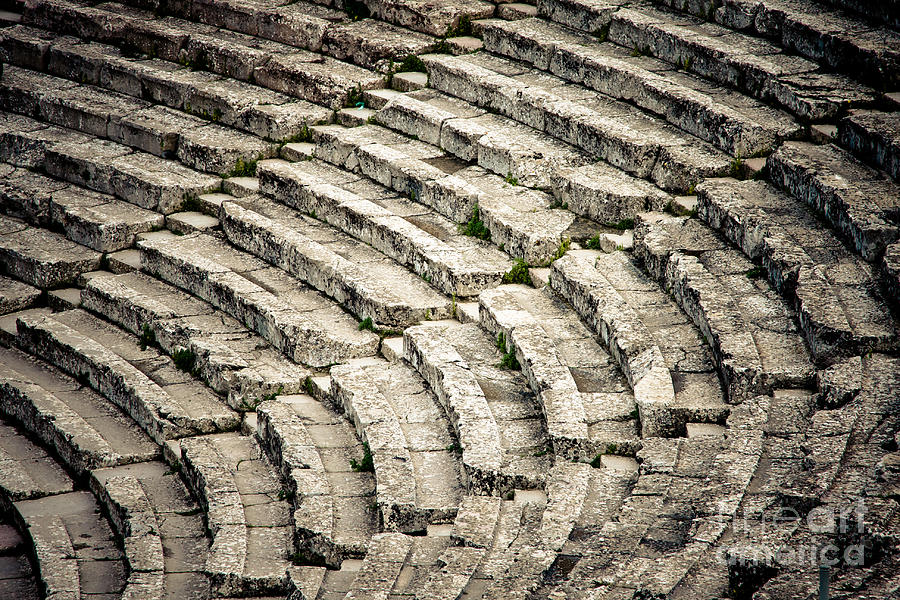 Theatre At Epidaurus Photograph