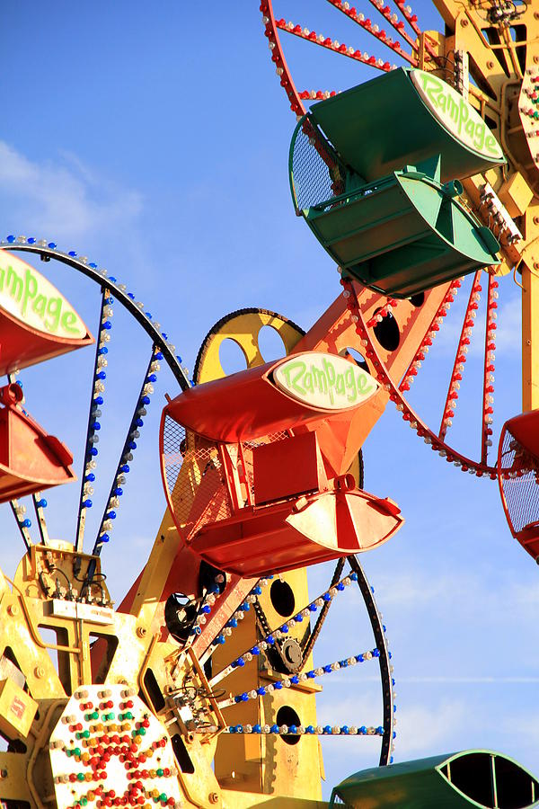 Theme Park Ride Photograph  - Theme Park Ride Fine Art Print