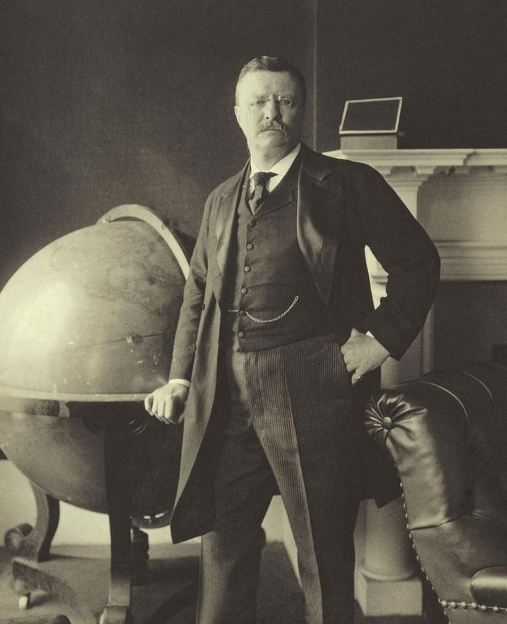 Republican Photograph - Theodore Roosevelt  by Anonymous