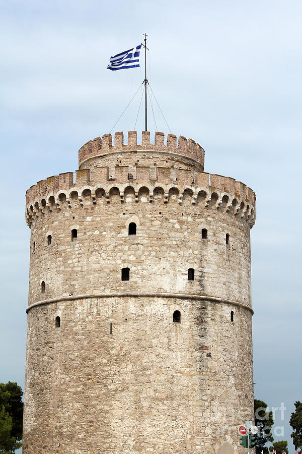 Thessaloniki Famous Landmark White Tower Photograph