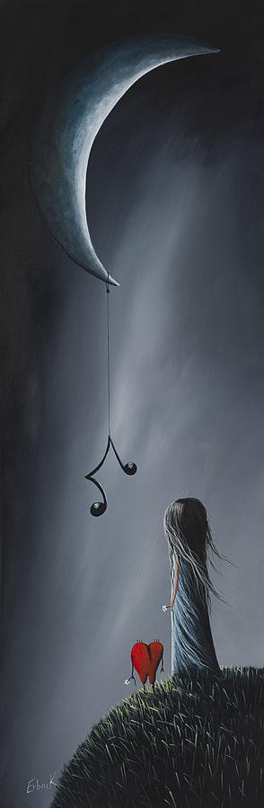 Art Painting - They Feel Your Love Song - Surreal Art By Shawna Erback by Shawna Erback