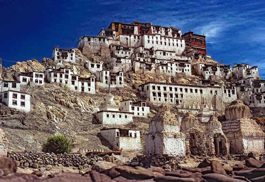 Thiksey Monastery Photograph