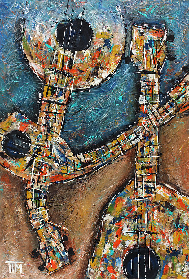 Things With Strings Painting  - Things With Strings Fine Art Print
