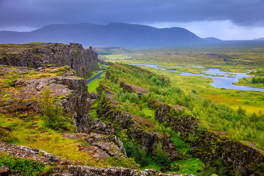 Thingvellir National Park Rift Valley Photograph By Alexey