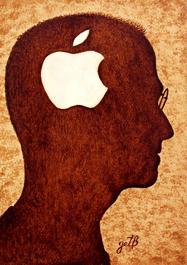 Think Different Tribute To Steve Jobs Painting