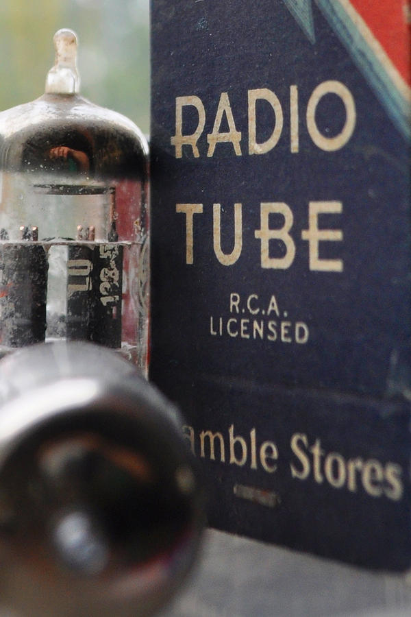 Vacuum Tube Photograph - Think Retro II by Everett Bowers