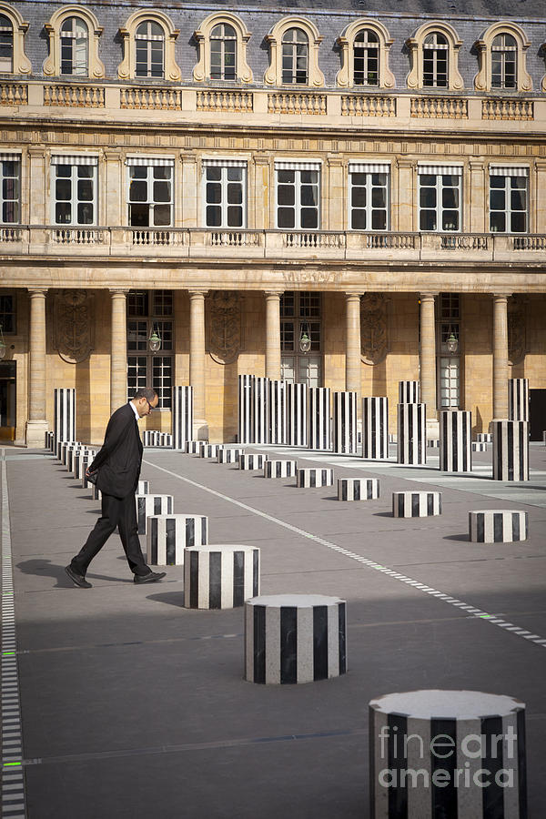 Thinking - At Palais Royal Photograph