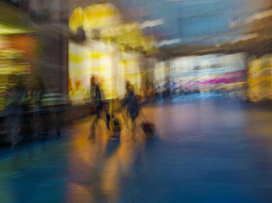 Impressionist Photograph - This Is How We Roll by Alex Lapidus