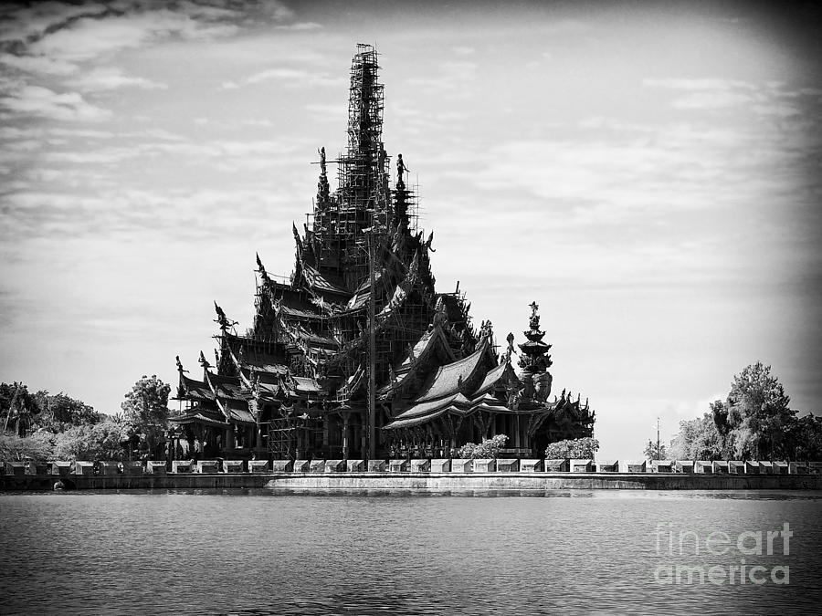 Asia Photograph - This Old Temple by Thanh Tran