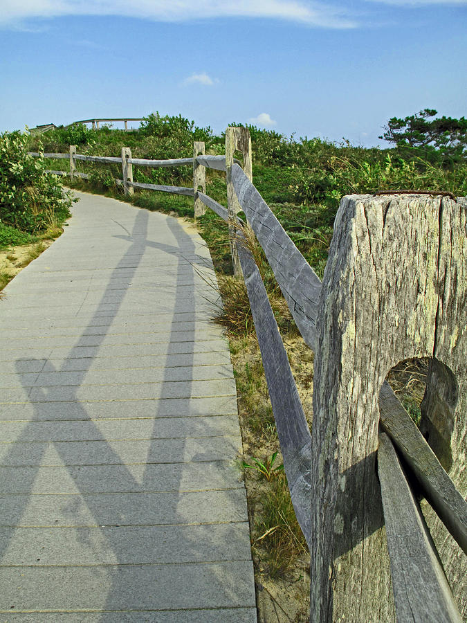 This Way To The Beach Photograph