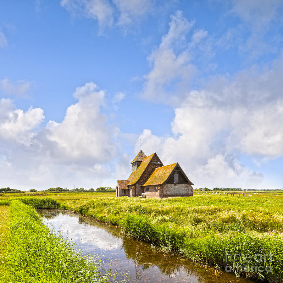 Thomas A Becket Church Romney Marsh Photograph