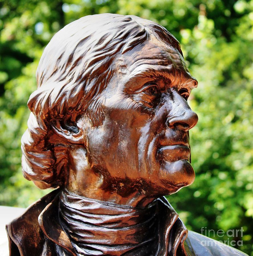 Thomas Jefferson Photograph - Thomas Jefferson by Judy Palkimas