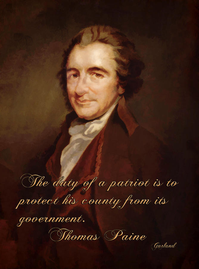 Why was Thomas Paine important to the American Revolution?