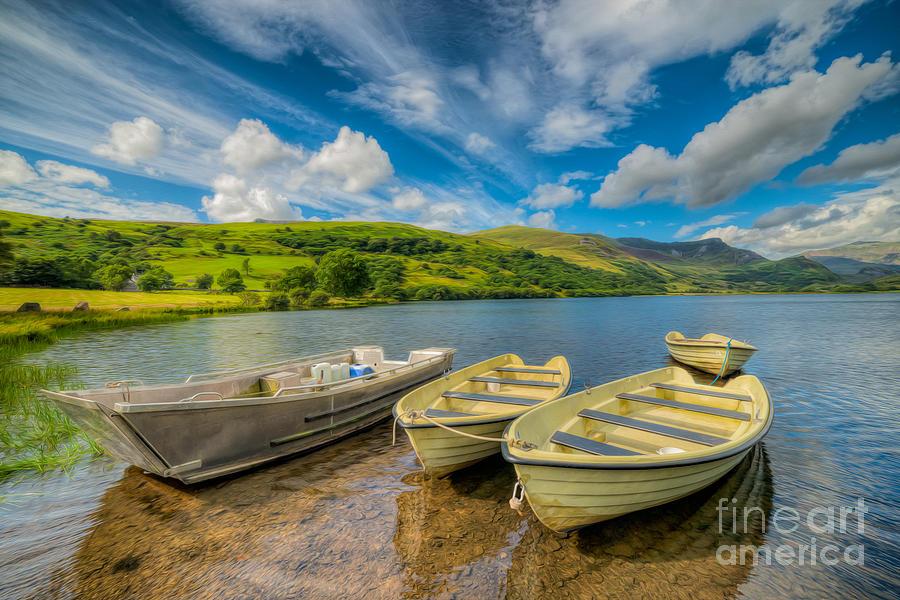 Three Boats Photograph