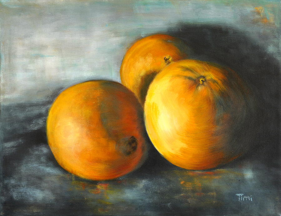 Three Oranges- Eat Pretty Things Painting