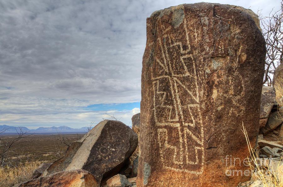 Three Rivers Petroglyphs 4 Photograph