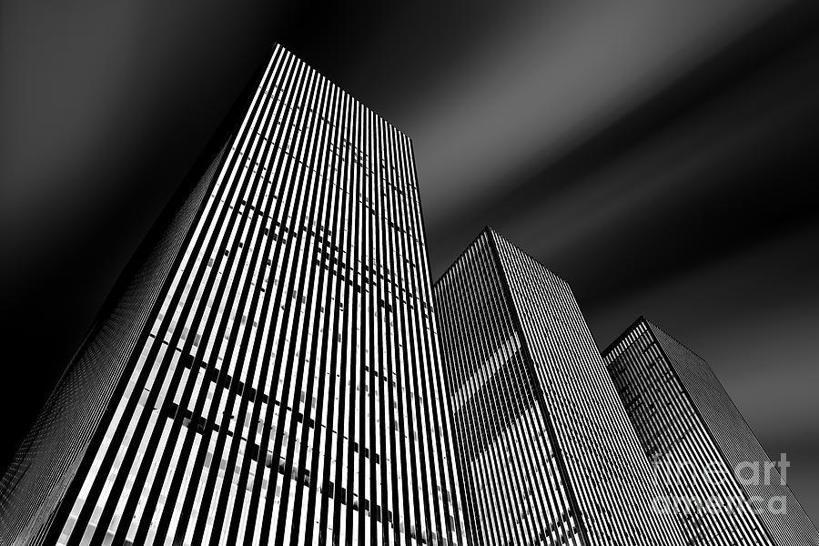 Three Towers Photograph