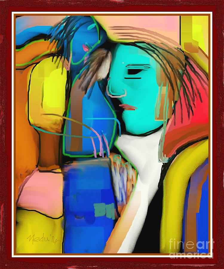 Three Women Conversing Painting