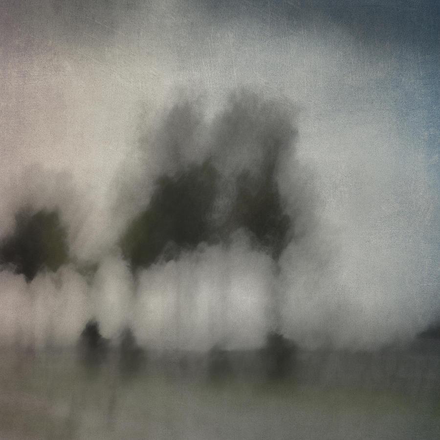 Row Photograph - Through A Train Window by Carol Leigh