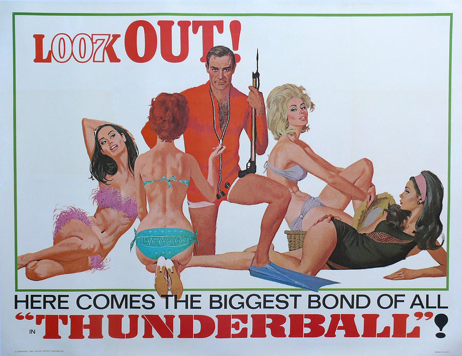 Thunderball Digital Art