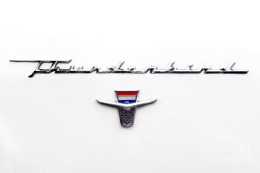 Thunderbird Tag Photograph