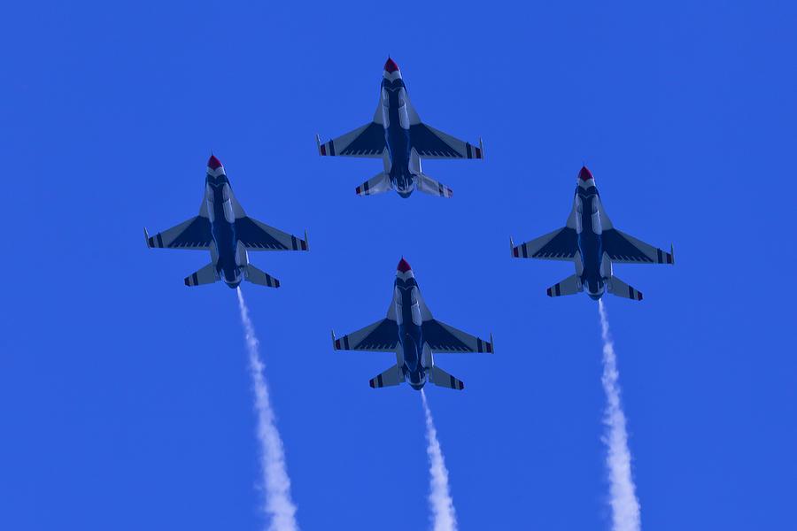 Thunderbirds Diamond Formation Undersides 2 Photograph