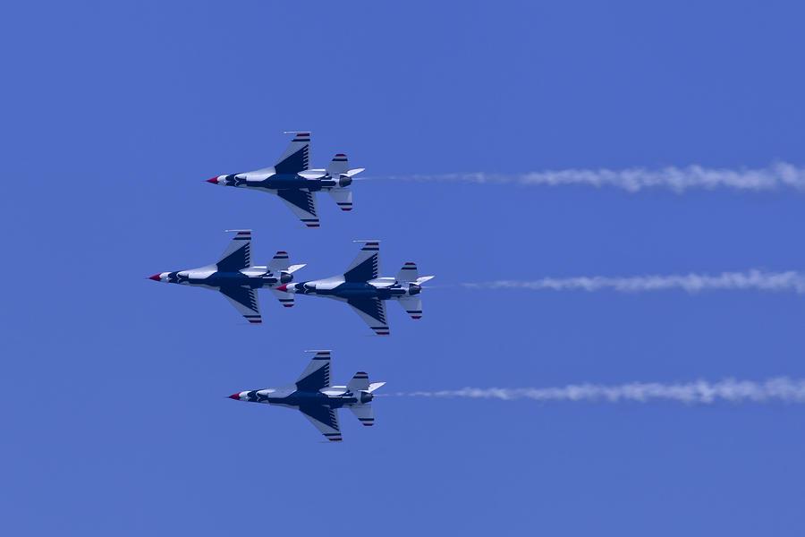 Thunderbirds Diamond Formation Undersides Photograph