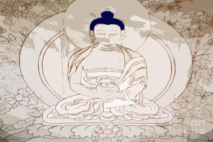 Buddhism Photograph - Tibet Buddha by Kate McKenna