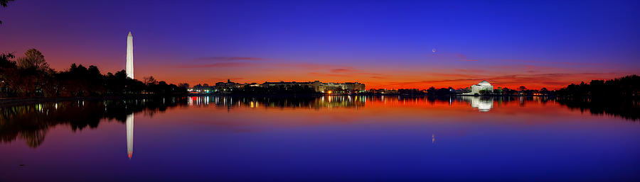 Dc Photograph - Tidal Basin Sunrise by Metro DC Photography