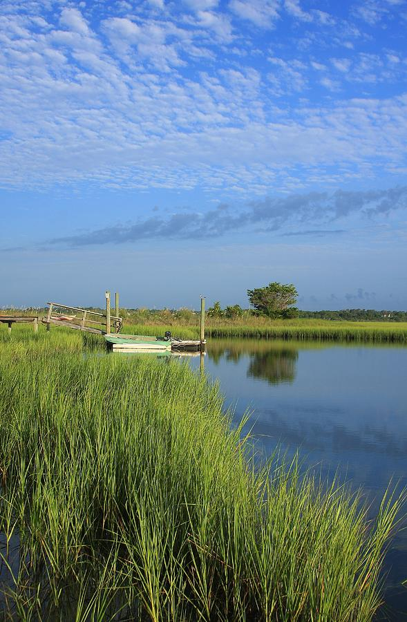 Tidal Marsh Wrightsville Beach Photograph