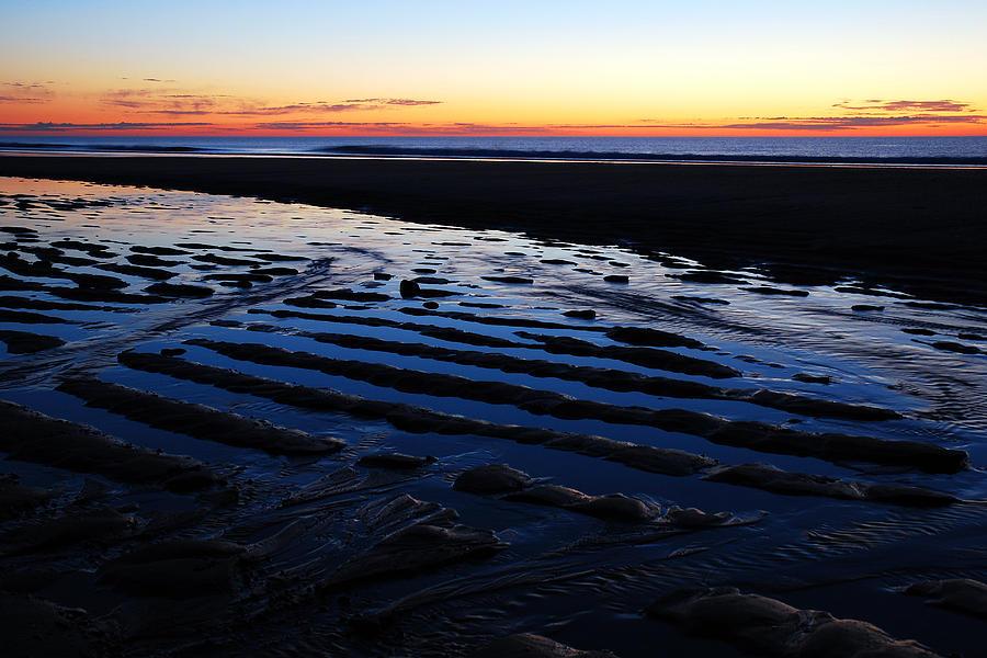 Tidal Ripples At Sunrise Photograph