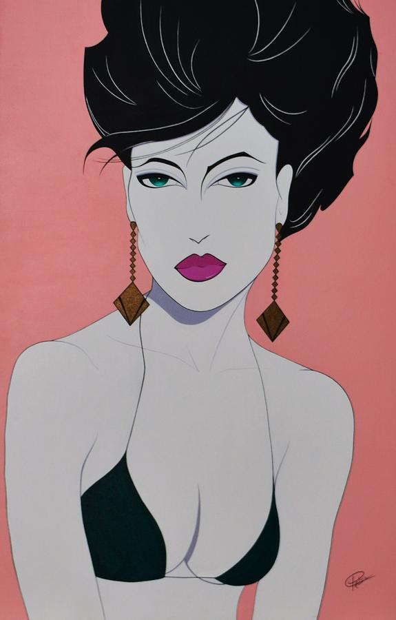 Tiffany Painting  - Tiffany Fine Art Print