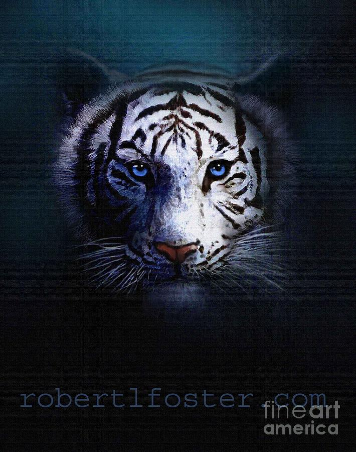 Tiger Eyes Painting