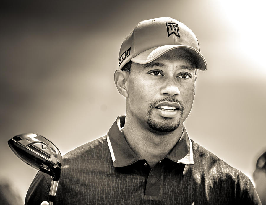 Tiger Woods Photograph